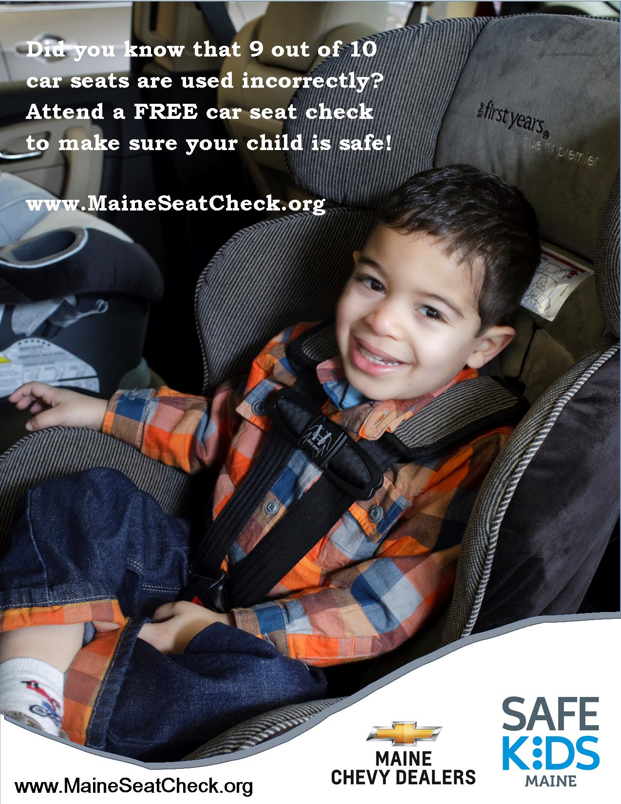 Car Seat Inspection Station Poster